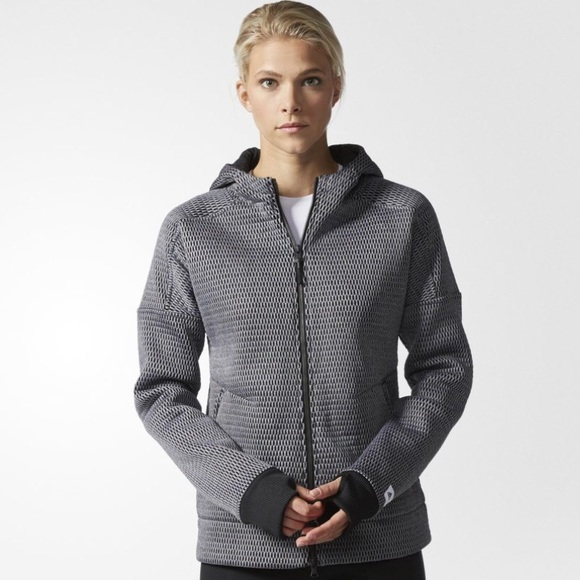 newest e5456 5abef ADIDAS ATHLETICS X REIGNING CHAMP Mesh jacket